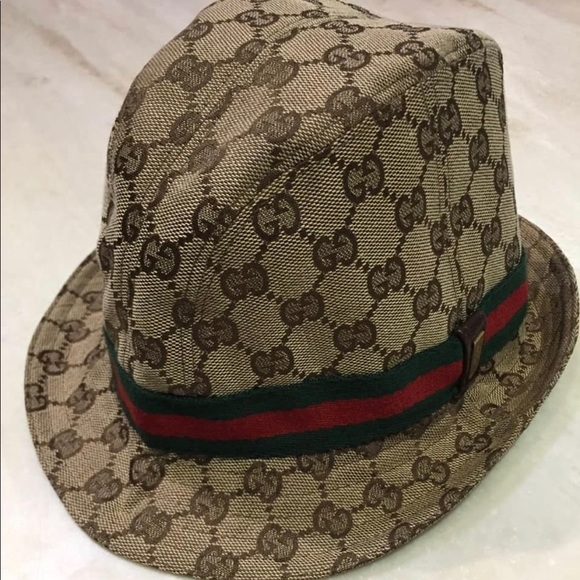 d985dc5f Gucci Accessories   Monogram Canvas Bucket Hat   Poshmark